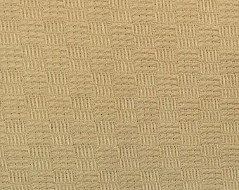 Squares - Yellow - Upholstery Fabric by the Yard