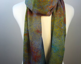 Multi-Color Floral Scarf