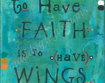 Faith Wall Decor faith wall art | etsy