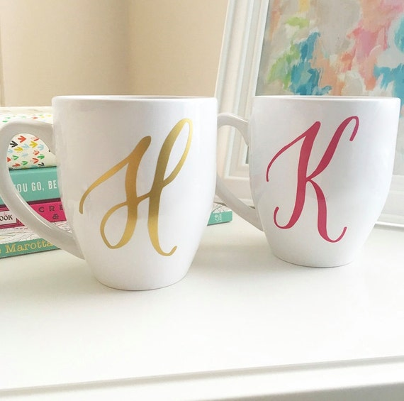 Personalized Coffee Mugs Wedding Gift : Personalized Coffee Mug Monogram Mug Custom Coffee Mug
