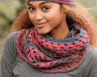 Crochet Hat and Neckwarmer