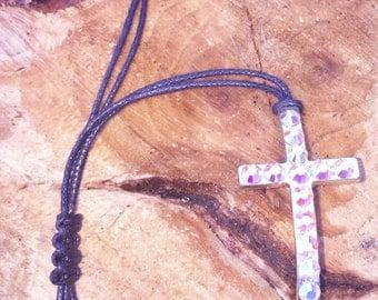 """2"""" Swarovski Cross Bracelet"""