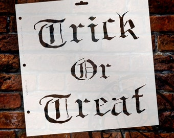 """Trick or Treat - 11.5"""" X 11.5"""" - STCL173 - by StudioR12"""