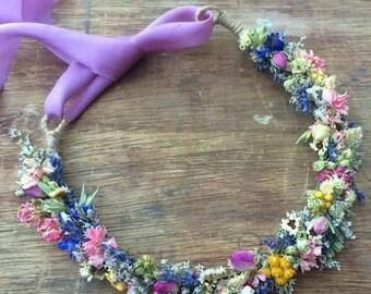 Dried Flower Crown
