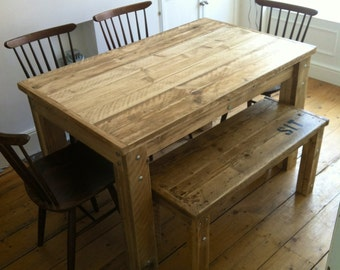 BOLTED Reclaimed Wood Dining Table