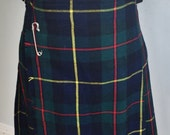 Vintage Wool Kilt