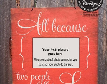 wedding gift, gift for couple, rustic wedding gift, Picture Frame, Photo Holder, Valentine Gift, Wedding Photo, Anniversary Gift
