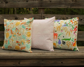 Baby Nursery Print Pillow Covers