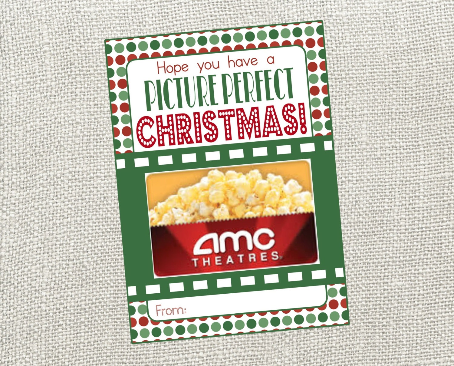 picture perfect christmas card perfect card for movie gift