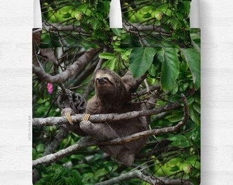 Sloth Blanket or Duvet Cover - Dye Sublimation - Twin, Queen, King   Made to Order  
