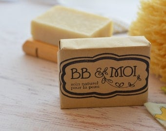Organic Baby Soap/Shampoo with Olive Oil and Shea Butter for Sensitive Skin