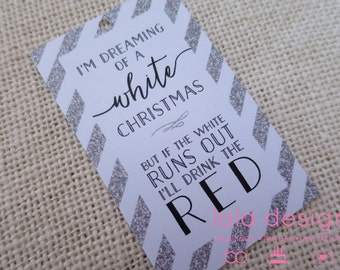 I'm Dreaming of a White Christmas Tags