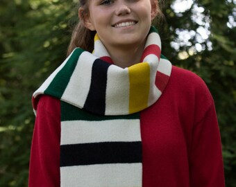 SALE!!!!              Wool Glacier Scarf Made From Pendleton Wool