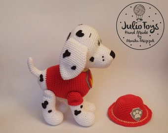 Dalmatian like Marshall from the Paw Patrol - PDF pattern