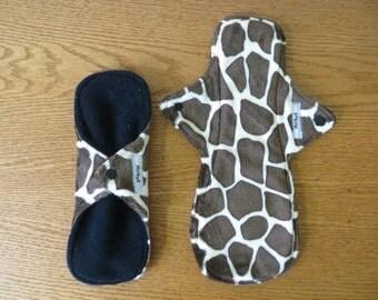 Giraffe Minky Reusable Cloth Pad