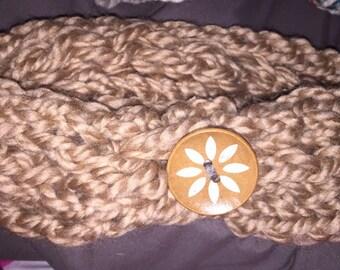 Finger Knit Headband