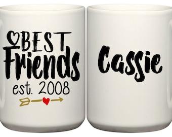 Set of Best Friends Coffee Mugs