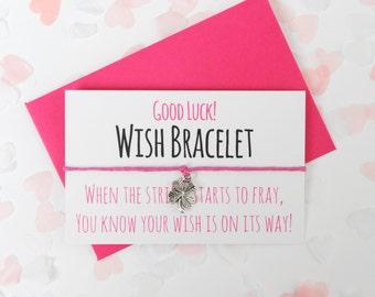 Good Luck  |  Handmade Wish Bracelets
