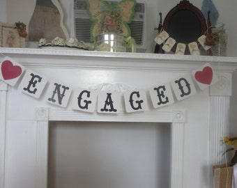 Engagement Banner Engaged Engagement Announcement