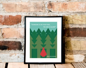 Into The Woods Print