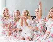Bridesmaid Robes // Bridal Robe // Bride Robe // Bridal Party Robes // Bridesmaid Gift // Robe // Floral Robes