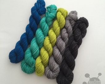 NanoStitch Color Kits - Hand Dyed Sock Yarn