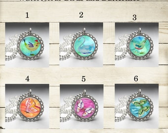 Bottlecap Necklaces w/Magnetic Inserts - BC001