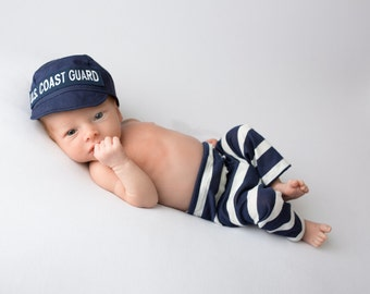 Newborn Striped Stretch Pants, pick your color - Photography Prop