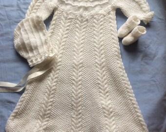 Sugarplum Christening Gown