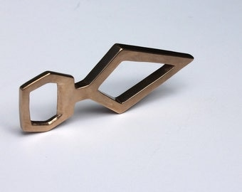 Dame - Hand Carved and Cast Bronze Bottle Opener