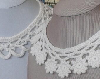 Crochet Pattern - Lace Collars