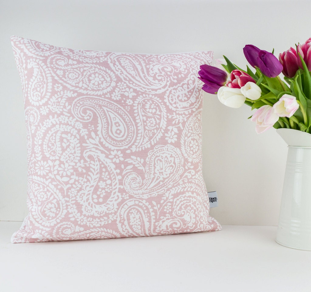 Blush Pink Decorative Pillow : Blush cushion Blush pink pillow Dusty pink cushion Rose
