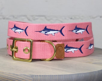 Marlin Dog Collar - Pink