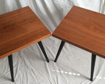 Set of Cherry End Tables