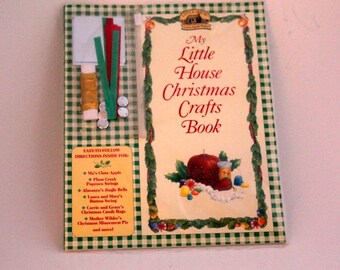 Christmas Craft Kit, Little House Christmas Crafts Book, Laura Ingalls Wilder Pioneer Christmas Craft Book,  Recipes, Decorations, and Gifts