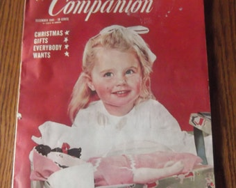 Womans Home Companion Magazine - December 1941
