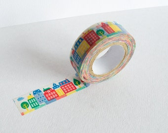 Town House Washi Tape Planner