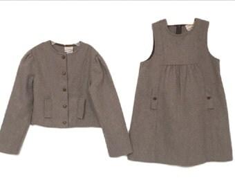 Vintage 70's girls dress jacket size 6