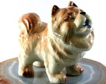 Chow Chow - handpainted porcelain figurine, 3677