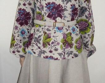Women's linen suit