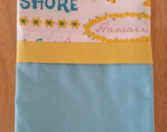 SALE!  Pillowcase - Toddler/Travel Size - Hawaii Themed