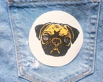 Parche carlino/ Pug patch