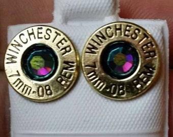 Stock SALE Brass Bullet Casing Stud Earrings STOCK SALE!!!