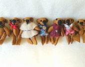 Miniature Tin Bears
