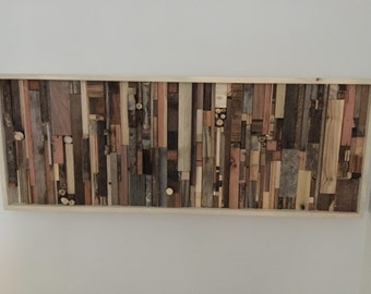 Mixed Reclaimed Wall Hanging
