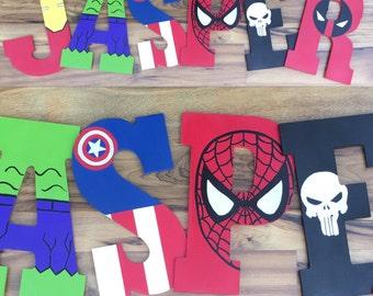 """Superhero Letters 10.5"""""""