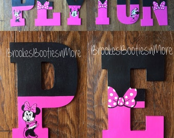 """Minnie Mouse Letters 10.5"""""""