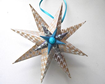 Paper Star, Ornament, Party Favors