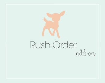 Rush My Order Add-on