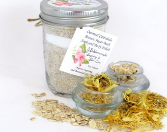 Calendula and Oatmeal Bath, Herbal Bath, Oatmeal Bath, Bath Tea Bags, Bath Soak, Herbal Bath Soak, Tub Tea, Therapeutic Bath, Relaxing Bath